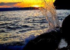 Выплеск волны Стоковое фото RF