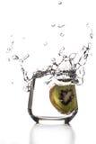 Выплеск кивиа Стоковое Изображение RF