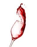 Выплеск красного вина