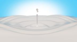выплеск молока Стоковое Изображение RF