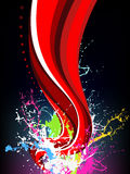 Выплеск радуги Стоковое Изображение RF