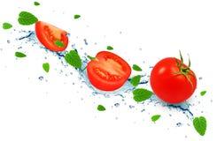 Выплеск томата Стоковые Фото