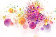 Выплеск цвета Стоковые Фотографии RF