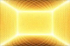 выравнивает померанцовый желтый цвет Стоковое фото RF