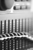 Выравниватель черно-белого фото многополосный Стоковое Изображение
