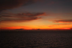 Выравниваться на море Стоковые Фото