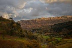 Выравниваться над Snowdonia Стоковое фото RF