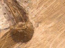 Выравнивать землю предпосылка фото трутня стоковые фото