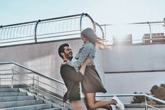 Выражать истинную влюбленность стоковые фото