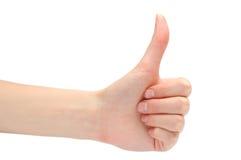 выражать позитивность руки стоковая фотография