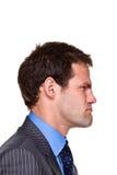 Выражение бизнесмена Стоковые Изображения RF