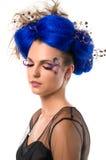 выражение лица волос модельное Стоковое Изображение