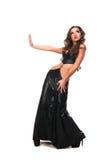выражение лица девушки танцы 2 брюнет сексуальное Стоковые Изображения