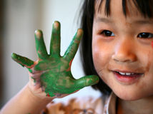 выражения детей Стоковое Фото