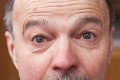 Выражения лица - сюрприз и удар Стоковые Фотографии RF