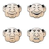 выражения лицевые иллюстрация штока