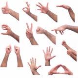 Выражения руки Стоковая Фотография RF