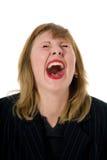 выразительная женщина Стоковая Фотография