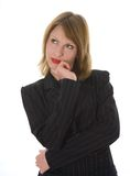 выразительная женщина Стоковые Фотографии RF