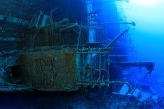 выразьте красное кораблекрушение моря salem стоковая фотография rf