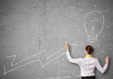 Вырастите и концепция успеха стоковое изображение rf