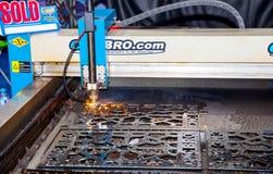 Вырезывание лазера Стоковая Фотография