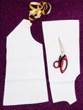 Вырезывание аппаратур и картины портноя одежд Стоковые Фото