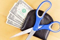 вырезывание бюджети ваше Стоковая Фотография RF