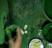 Вырезывание диаманта и производство ювелирных изделий Стоковые Изображения RF