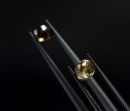 Вырезывание диаманта и производство ювелирных изделий Стоковое Изображение RF