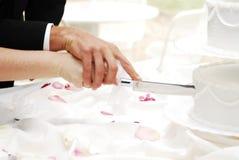 вырезывание торта Стоковое Изображение RF