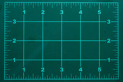 Вырезывание циновки Стоковое фото RF