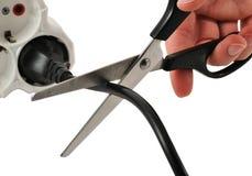 вырезывание шнура Стоковое Изображение RF