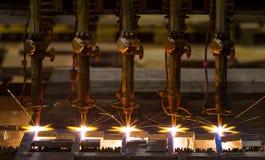 Вырезывание CNC LPG стоковая фотография rf