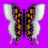 Вырез бабочки Стоковое Фото