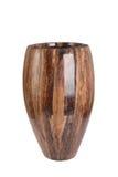 Вырез деревянной вазы Стоковое Изображение RF