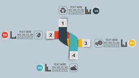 Вырез знамен номера вариантов шаблона Stikers горизонтальный для сети иллюстрация вектора