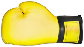 Вырез перчатки бокса Стоковая Фотография RF