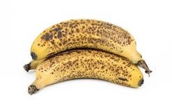 Вырез 3 зрелый бананов Стоковые Изображения RF
