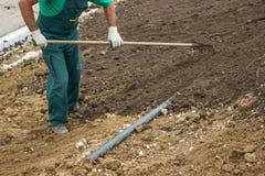 Выровняйте почву Стоковое Изображение RF