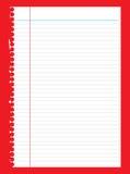 выровнянная бумага иллюстрация вектора