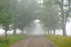 выровнянный грязью вал дороги Стоковые Фотографии RF