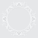 Высекаенная винтажная рамка сделанная из бумаги для изображения или фото Стоковые Фотографии RF