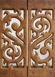 Высекаенная деревянная работа Стоковая Фотография RF