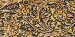 Высекаенная картина цветка Стоковое Фото