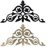 Высекаенные декоративные элементы Стоковые Изображения RF