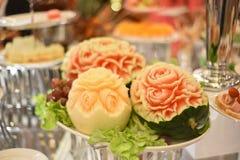 Высекаенные плодоовощ цветки формы красивые Стоковые Фотографии RF