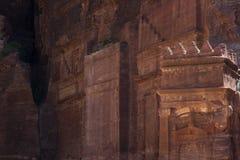 Высекаенные стены стоковая фотография