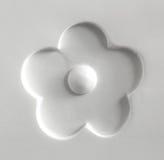 Высекаенный и покрашенный цветок Стоковое Изображение