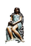 Высекаенный и скульптура статуи ангела попечителя европейский стиль Стоковое Фото